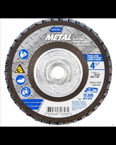Norton Abrasive Flap Wheels Size 4-1/2 x 5/8-11 60 Grit 66254472656 (5 PCS)
