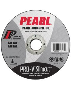 Pearl PVCW0532A 5 x .040 x 7/8 Aluminum Oxide Pro-V Thin Cut-off Wheels (Pack of 25)