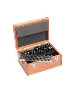 Hassay Savage Co. 15024 Keyway Broach Set, Broach Style IV, #3D