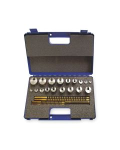 Hassay Savage Co. 15440 Keyway Broach Set, #40 Metric